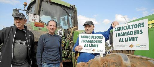 Los agricultores y ganaderos iniciaron las protestas el 8 de febrero en Campos.