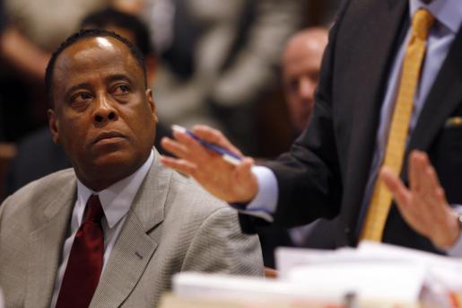 Conrad Murray, durante el juicio.