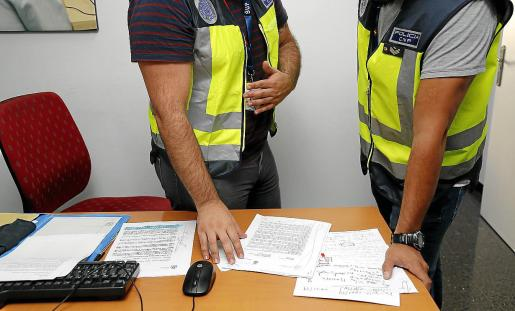 Los agentes de la UFAM establecieron un grupo especial con los de Atracos para dar con el maltratador.