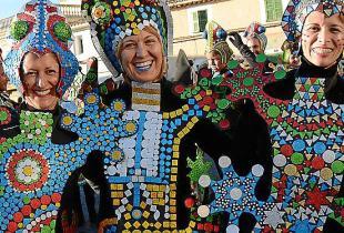 Mallorca se llena de color con el Carnaval