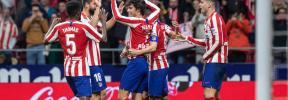 El Atlético vuelve al podio de la Liga