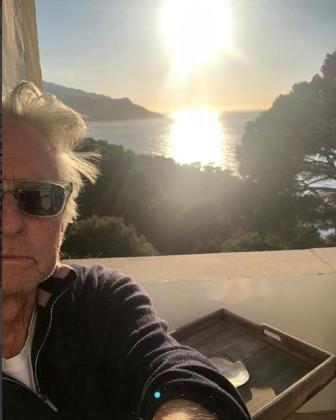 Michael Douglas ha pasado el fin de semana en Mallorca.