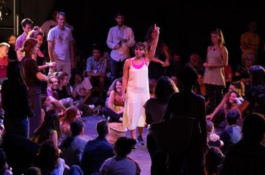 Así bailan las putas', con Júlia Bertran, en el Teatre Principal.