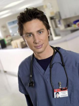 Zach Braff, protagonista de 'Srubs'.