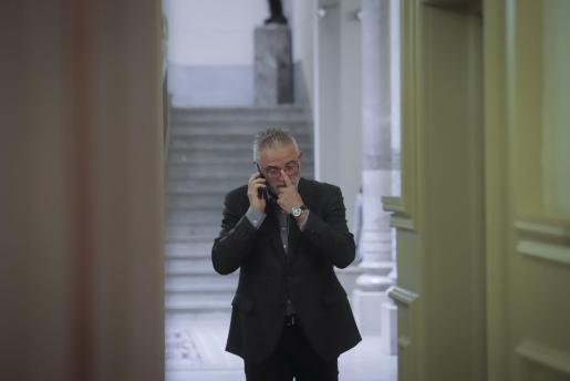 Jaume Font en el Parlament balear.