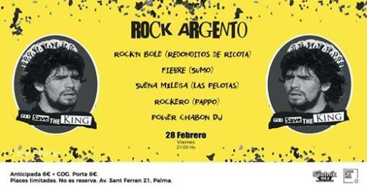 Actuación de Redonditos de Ricota (Rock'n Bole), Sumo (Fiebre), Las Pelotas (Suena Milega) y Pappo (Rockero) en Casa Planas.