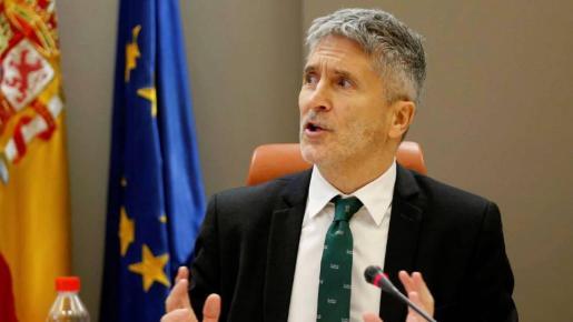 El ministro del Interior, Fernando Grande Marlaska.