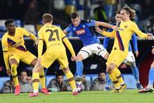 Nápoles vs Barcelona