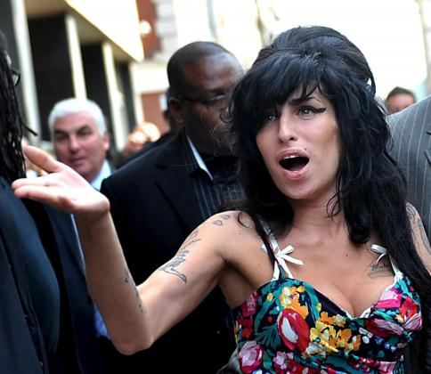 Fotografía de archivo de la cantante británica Amy Winehouse.