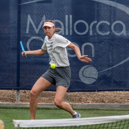 La tenista rusa Maria Sharapova, el pasado año en el Mallorca Open de Santa Ponça.