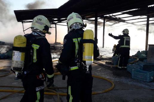Imagen de archivo de los bomberos del Consell de Mallorca.