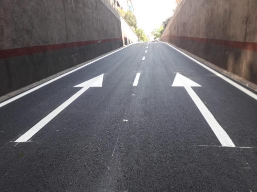Imagen de la salida del túnel de vía Alemania.