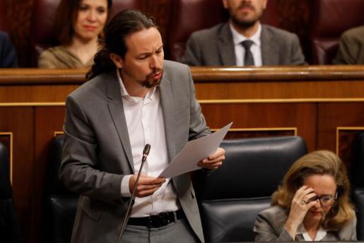El vicepresidente segundo de Pedro Sánchez aprovecha para informar de que se encuentra mejor de salud.