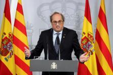 El presidente de Cataluña Quim Torra