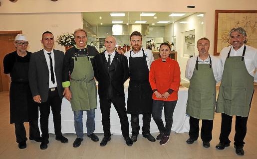 José Antonio Valle, Manuel Lara, Tomeu Torrens, Jaume Cabrer, Sergio de la Calle, Carmen Salazar, Toni Navarro y Miquel Cifre.