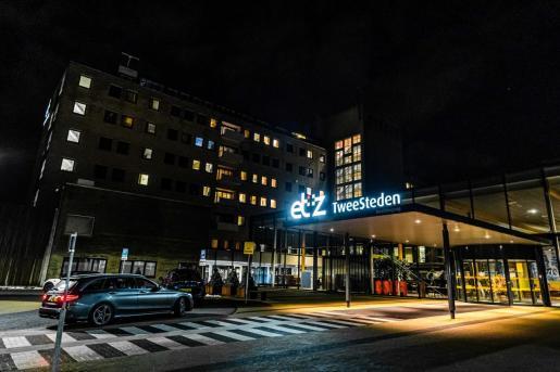 Exterior del TweeSteden Hospital, en Tilburg, the Netherlands, donde ha dado positivo el primer caso de coronavirus en Holanda.