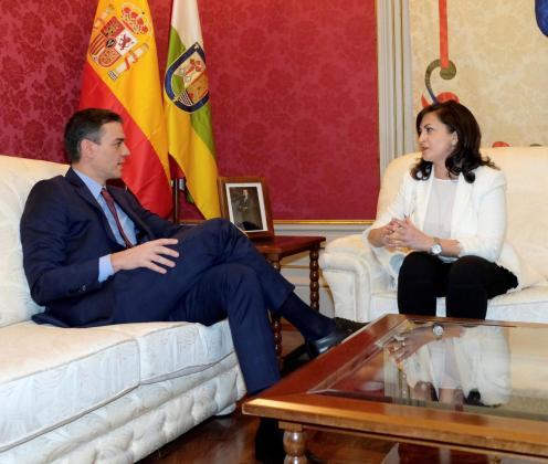 Sánchez ha hecho este anuncio durante su intervención ante los medios de comunicación junto a la presidenta de La Rioja, Concha Andreu, tras firmar ambos un acuerdo de colaboración entre sus gobiernos.