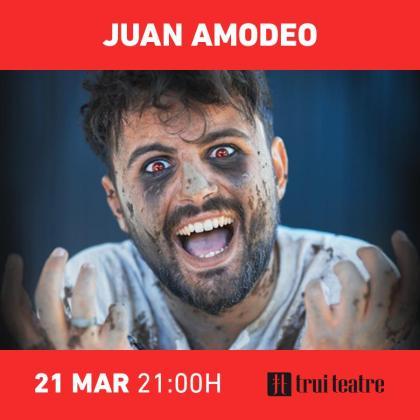 Juan Amodeo presenta su nuevo espectáculo en Trui Teatre.