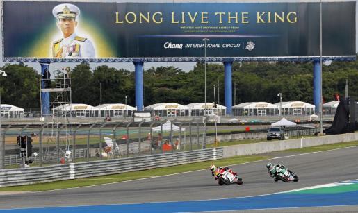 Imagen del Chang International Circuit, en la provincia de Buriram, escenario del Gran Premio de Tailandia.