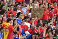 Último amistoso de la selección española