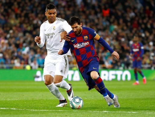 Imagen del clásico disputado entre el Real Madrid-FC Barcelona.