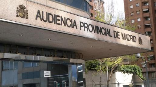La vista se ha celebrado en la Audiencia de Madrid.