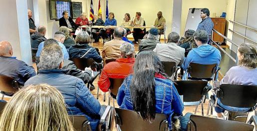 Los representantes de las asociaciones de inmigrantes se reunieron la semana pasada en Palma.