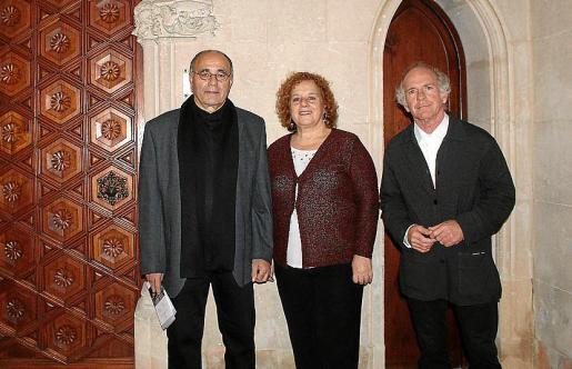 Josep Prohens, Eulàlia Salbanyà y Ñaco Fabré.