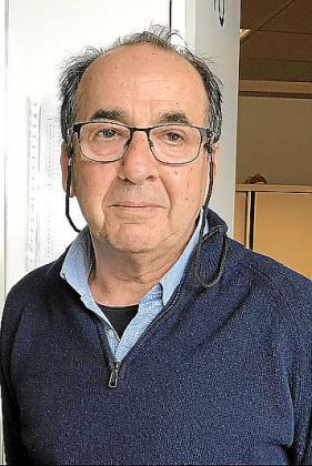 El doctor Antoni Nicolau.