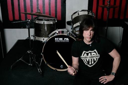 El exbatería de Ramones, Marky Ramone.