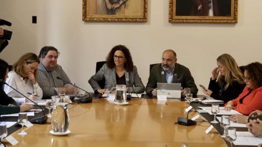 Un momento de la reunión del Consejo Asesor de la Fundació Turisme Mallorca.