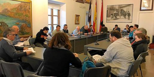 Reunión de la Comissió d'Estudis per a la Veritat, Justícia i Reparació.
