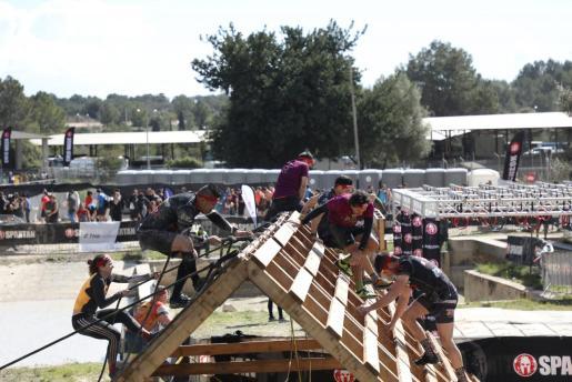 Imagen de Spartan Race disputada este sábado en Mallorca.