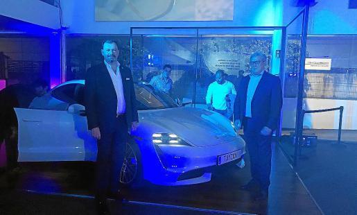 Imagen de la presentación en Centro Porsche Baleares.