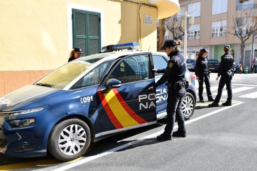 Arresto practicado por agentes del Cuerpo Nacional de Policía