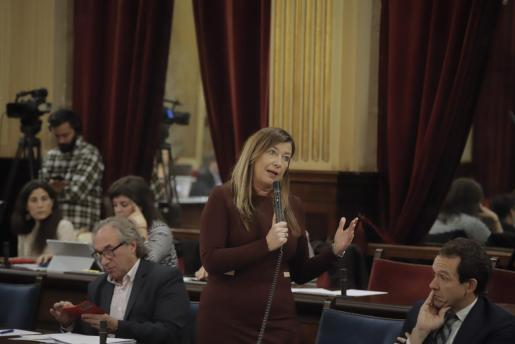 Imagen de archivo del pleno del Parlament.