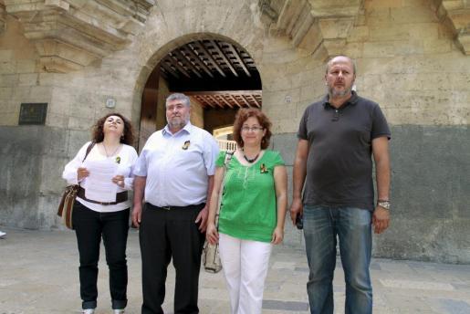 La coalición PSM-IV-Entesa ha presentado hoy un recurso para tratar de evitar la construcción del hotel en Sa Ràpita.
