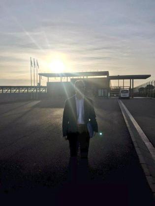 Jordi Turull, a su salida de prisión.