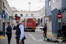 Un muerto y seis heridos en una explosión en una empresa química de Barcelona