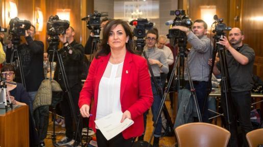 La presidenta del Gobierno de La Rioja, Concha Andreu.