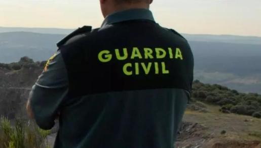 Una agente de la Guardia Civil.