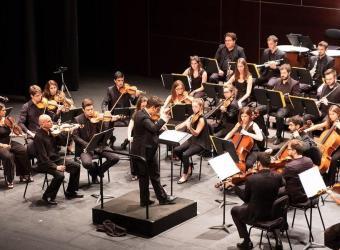 Concierto de la Orquestra de Cambra de Mallorca en el Teatre Principal
