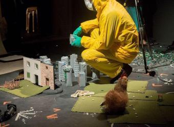 'Excalibur i altres històries d'animals morts', un espectáculo innovador en el Teatre Principal