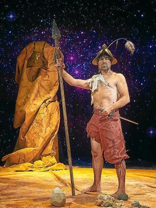 Rodo Gener, en una imagen promocional de la pieza.