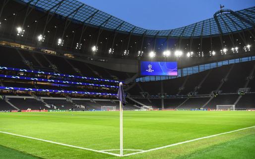 Vista general del estadio Tottenham Hotspur.