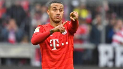 Imagen de Thiago Alcántara, centrocampista del Bayern de Munich.