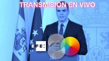 Comparecencia de Pedro Sánchez tras decretar el estado de alarma