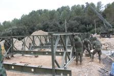 Militares en Artà tras la torrentada que asoló el Llevant de Mallorca.