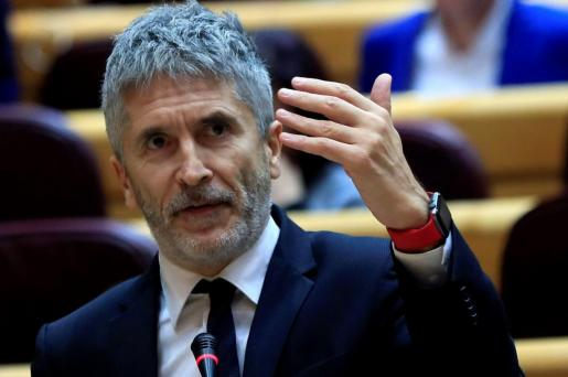 El ministro de Interior, Fernando Grande-Marlaska, en una imagen de archivo.
