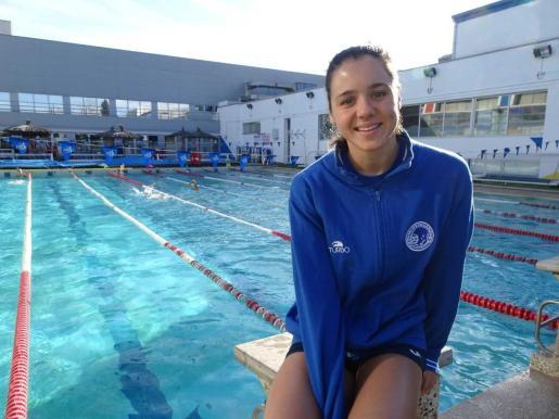 La nadadora mallorquina Catalina Corró.